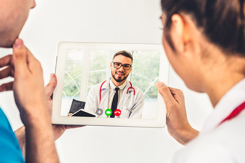 Video education for doctors